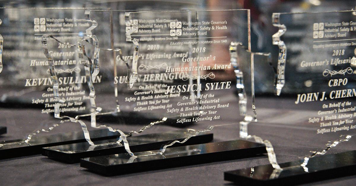 2018 Lifesaving Award Recipients